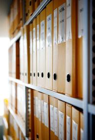 Folders on a row